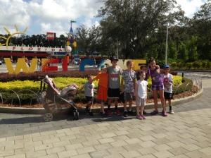 L==>R: Peyton, Matt, Victor, Alex, Jack, Elle,  Nate, Lauren & Will